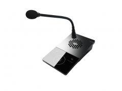 IP Desktop microphone with call station